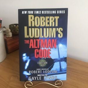 The Altman Code by Robert Ludlum 1st Edition 2003